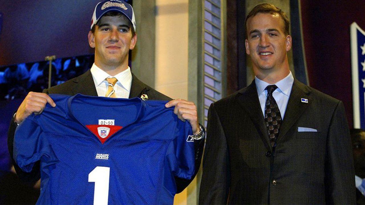 NFL Draft 2004: Eli Manning - Bildquelle: 2004 Getty Images