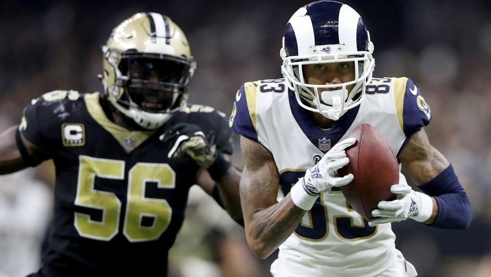 Am Ende waren die Los Angeles Rams gegen die New Orleans Saints ein Mü weite... - Bildquelle: 2019 Getty Images