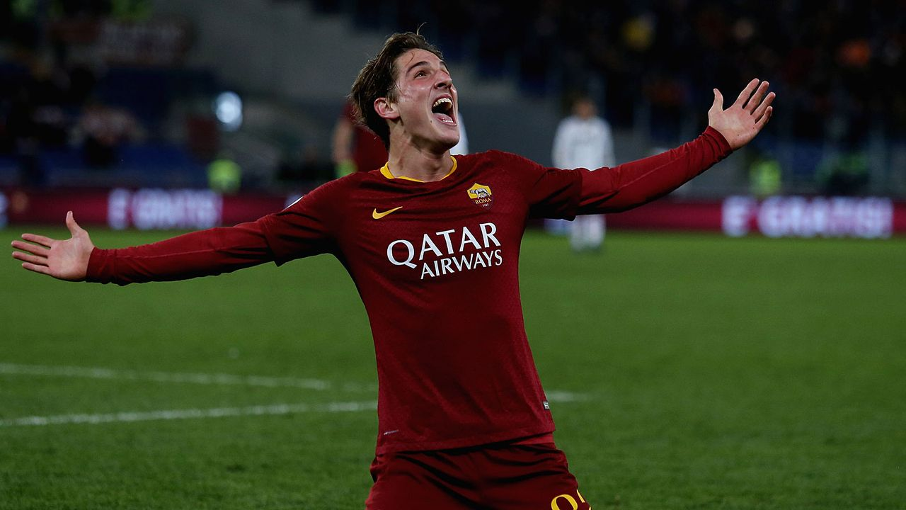Platz 3: Nicolo Zaniolo (AS Rom) - Bildquelle: 2018 Getty Images
