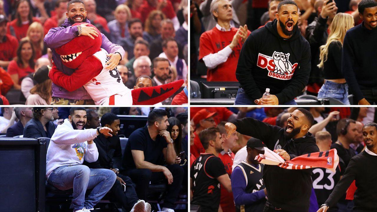 Drake-Verhalten ruft sogar NBA auf den Plan - Bildquelle: Getty Images