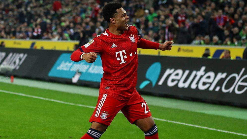 Gnabry hat seinen Vertrag beim FC Bayern verlängert - Bildquelle: Getty Images