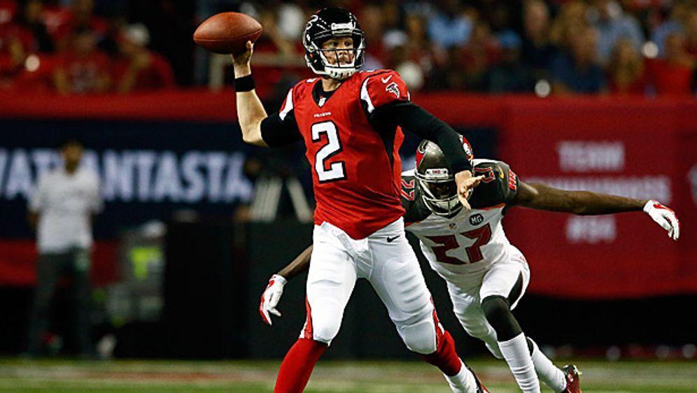 Falcons-Quarterback Matt Ryan führte sein Team mit einer überzeugenden Leist... - Bildquelle: Getty