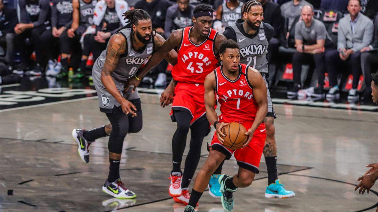Osten: Toronto Raptors (2) vs. Brooklyn Nets (7) - Bildquelle: imago images/ZUMA Press