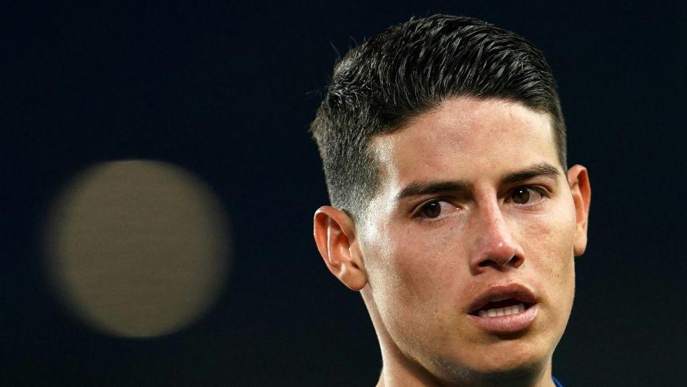 Gehen getrennte Wege: James Rodriguez und Everton - Bildquelle: AFPPOOLSIDJON SUPER