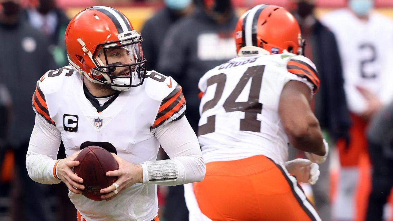 Platz 6 - Cleveland Browns - Bildquelle: 2021 Getty Images