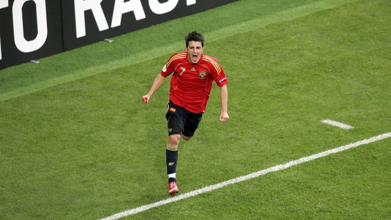 EM 2008: David Villa (Spanien) - Bildquelle: Imago Images