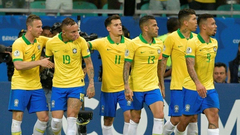 Copa America: Verband spricht Strafe gegen Brasilien aus - Bildquelle: AFPSIDRAUL ARBOLEDA