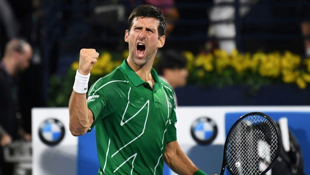Dubai: Novak Djokovic gewinnt das Hartplatzturnier - Bildquelle: AFPSIDKARIM SAHIB