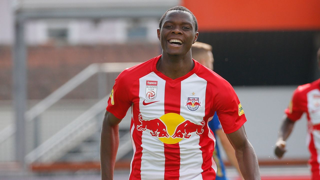 Patson Daka (RB Salzburg) - Bildquelle: imago