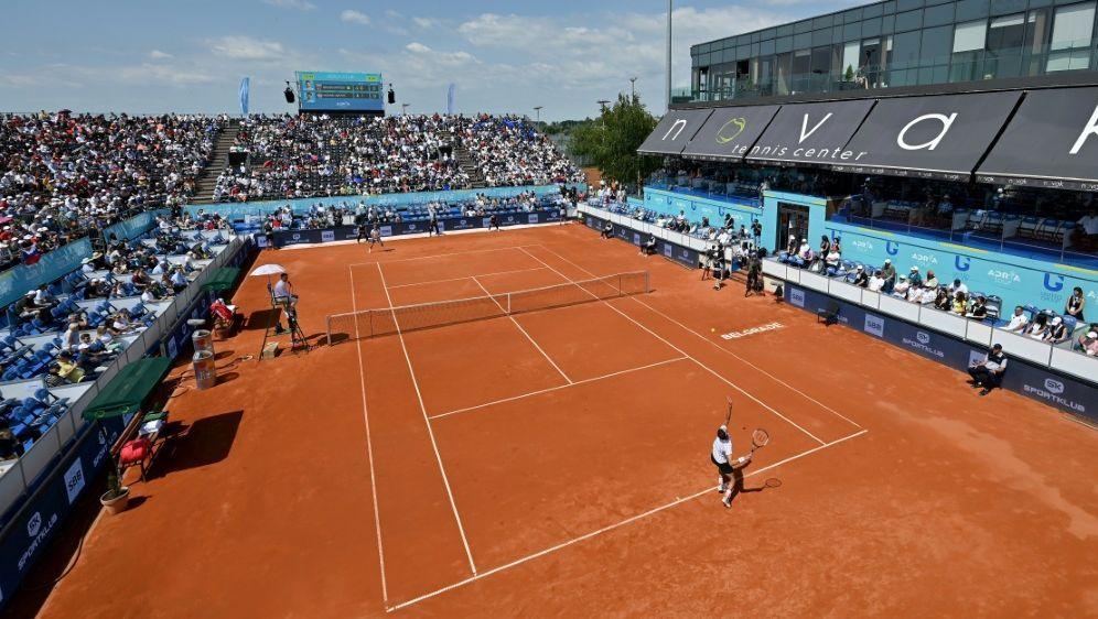 WTA-Turnier in Prag vor knapp 2000 Zuschauern - Bildquelle: AFPSIDANDREJ ISAKOVIC