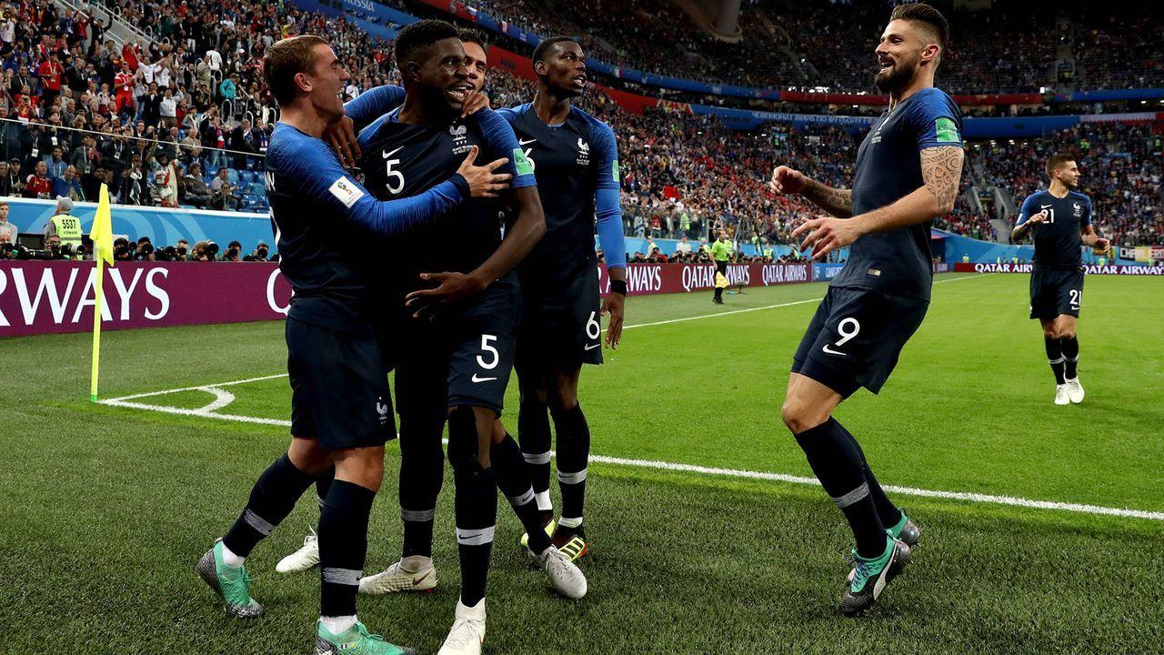 Endergebnis: 6:5 für Frankreich - Bildquelle: imago/PA Images