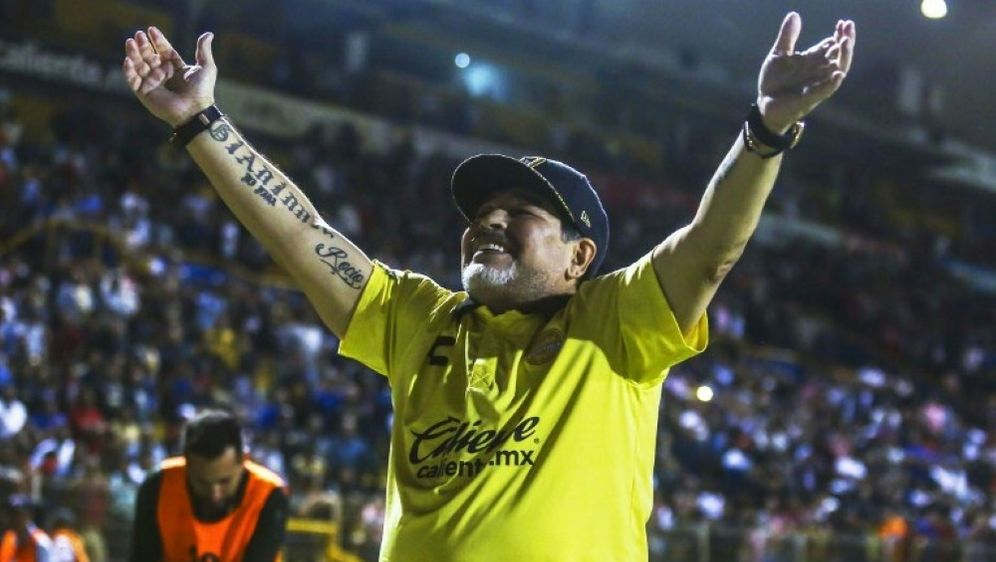 Diego Maradona sorgt erneut für Schlagzeilen - Bildquelle: AFPSIDRASHIDE FRIAS