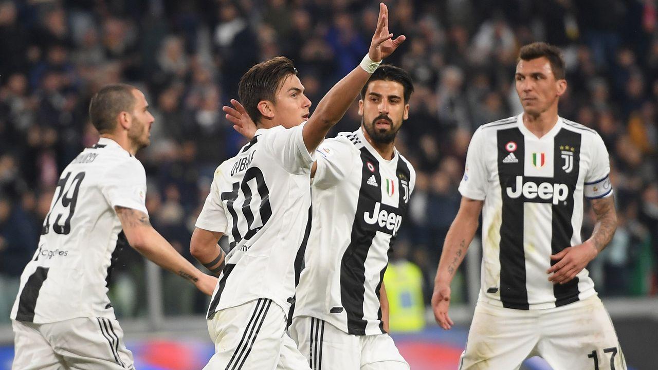 Platz 4: Juventus Turin - Bildquelle: 2019 Getty Images