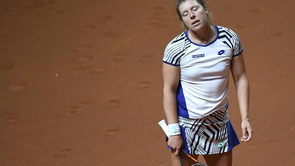 Anna-Lena Friedsam hat das Viertelfinale verpasst - Bildquelle: AFPSIDTHOMAS KIENZLE