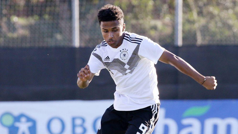 Traf gegen Weißrussland und Island für das DFB-Team:Karim Adeyemi. - Bildquelle: imago