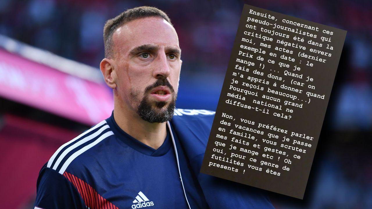 Niveauloser Rundumschlag: Ribery rastet auf Twitter aus - Bildquelle: 2018 Getty Images / 2019 Twitter/FranckRibery