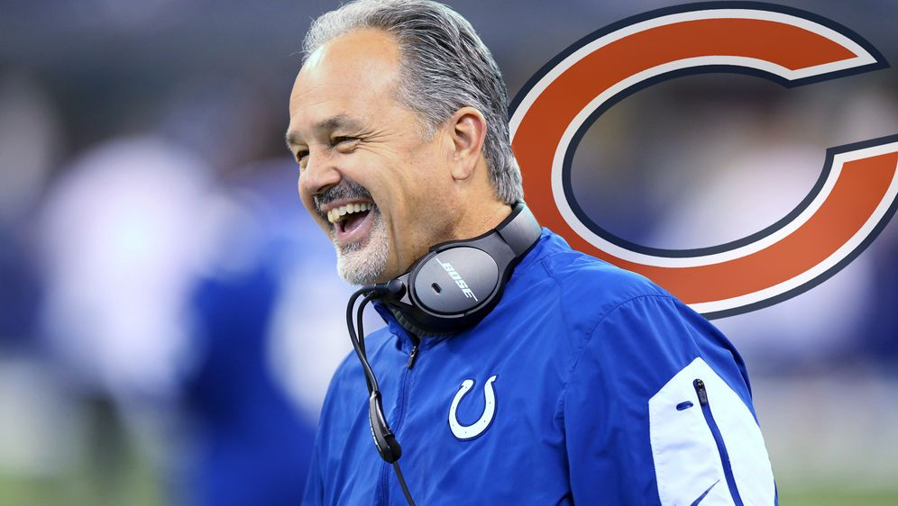 Chuck Pagano ist neuer Defensive Coordinator der Chicago Bears - Bildquelle: Getty