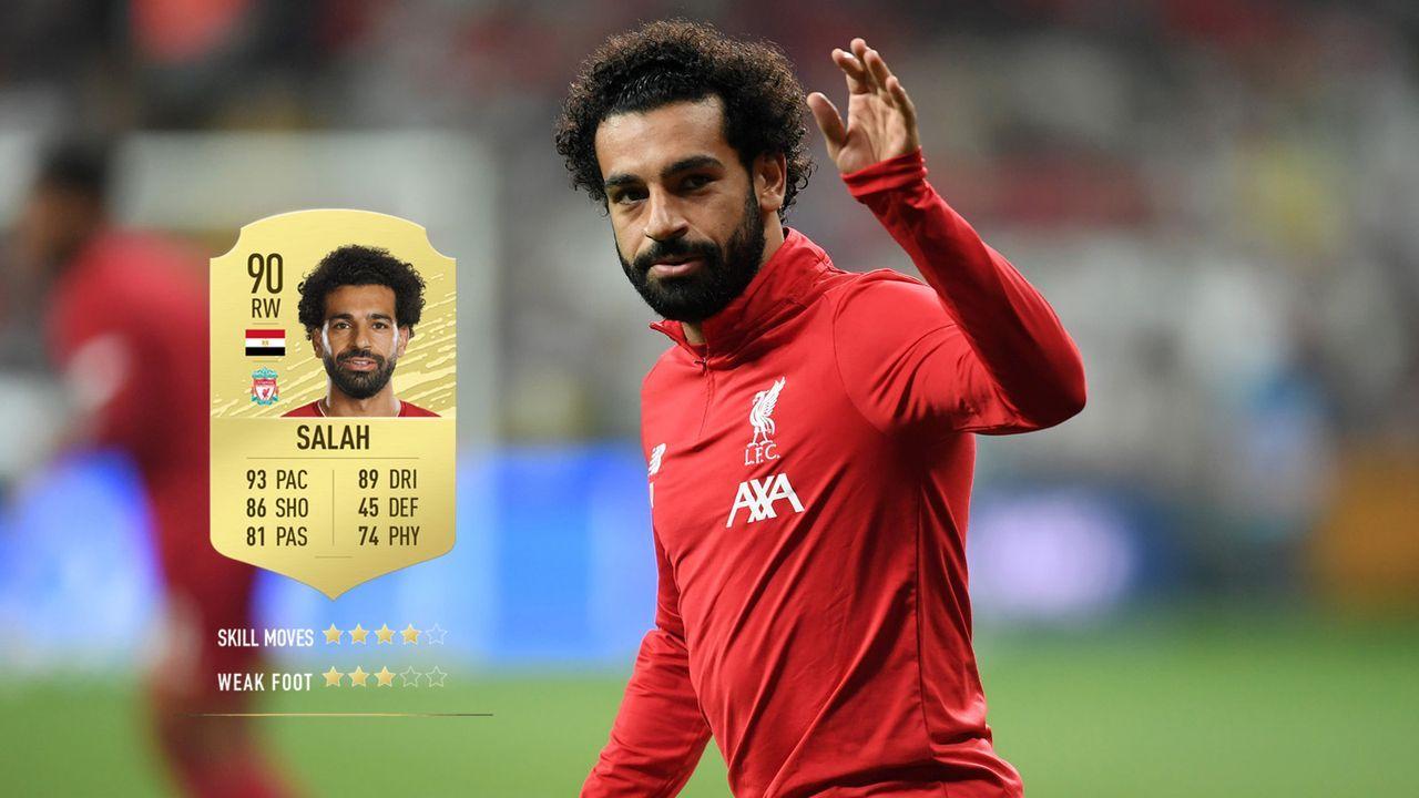 7. Mohamed Salah (FC Liverpool)  - Bildquelle: 2019 Getty Images
