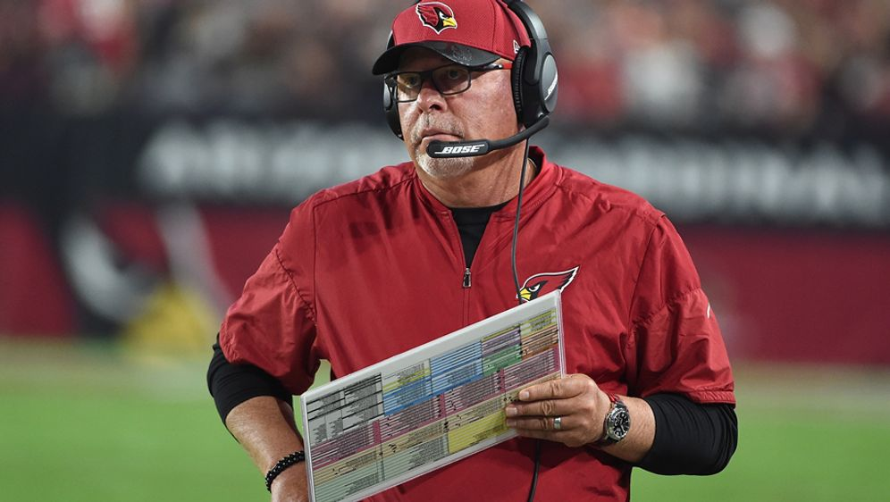 Bruce Arians ist seit 2013 Head Coach der Arizona Cardinals - Bildquelle: 2016 Getty Images