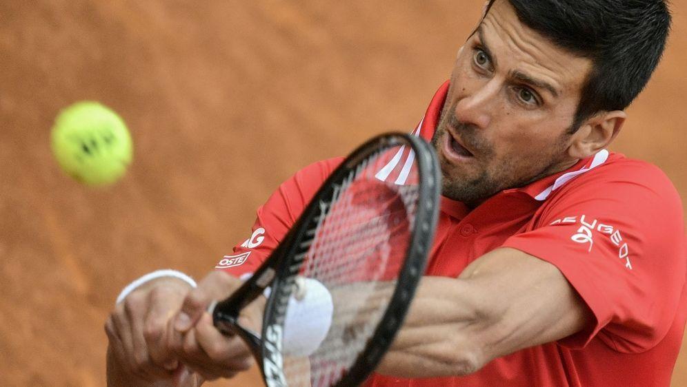 Djokovic schlug Moraing in zwei Sätzen - Bildquelle: AFPSIDFILIPPO MONTEFORTE