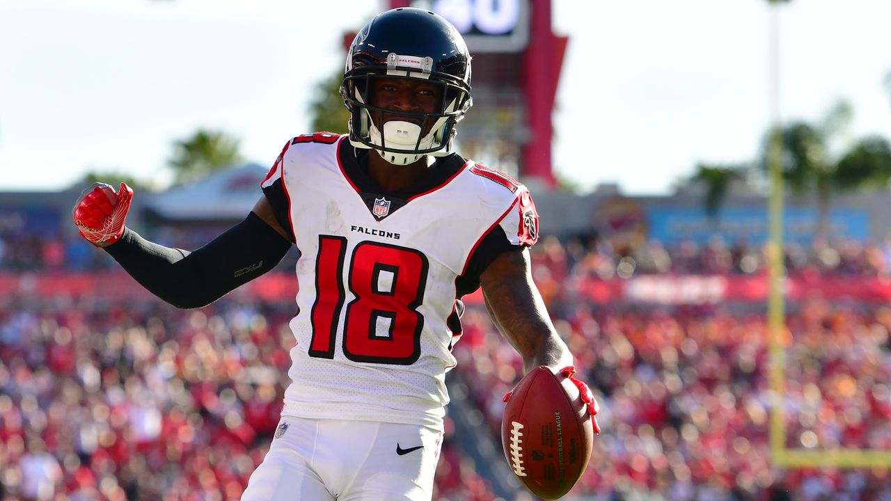 Platz 5 (geteilt) - Atlanta Falcons - Bildquelle: 2018 Getty Images