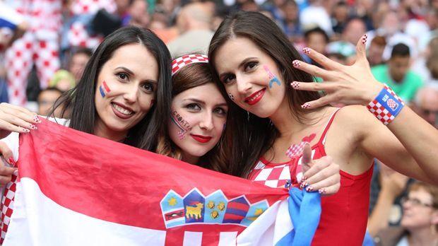 Fans Kroatien - Bildquelle: imago/Pixsell