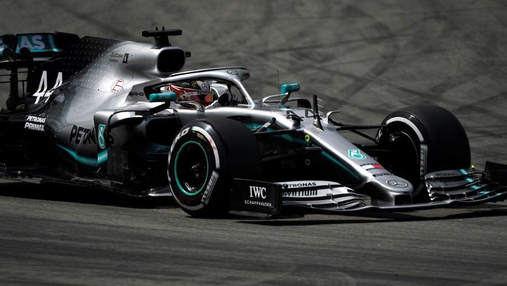 Dominierte das Abschlusstraining: Lewis Hamilton - Bildquelle: AFPSIDPIERRE-PHILIPPE MARCOU