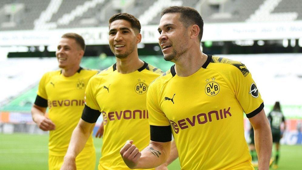 Guerreiro erzielte das 1:0 für Borussia Dortmund - Bildquelle: FIROFIROSID