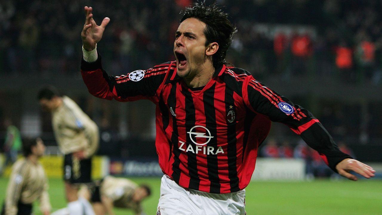 Die meisten Tore in verschiedenen Wettbewerben: Filippo Inzaghi - Bildquelle: 2006 Getty Images