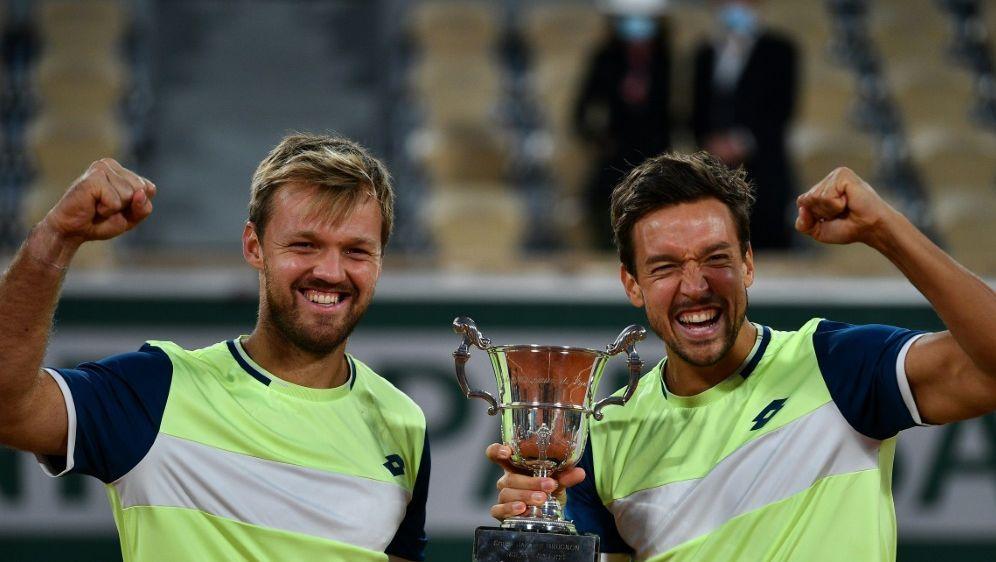 Die French-Open-Sieger stehen im Finale von Köln - Bildquelle: AFPSIDANNE-CHRISTINE POUJOULAT