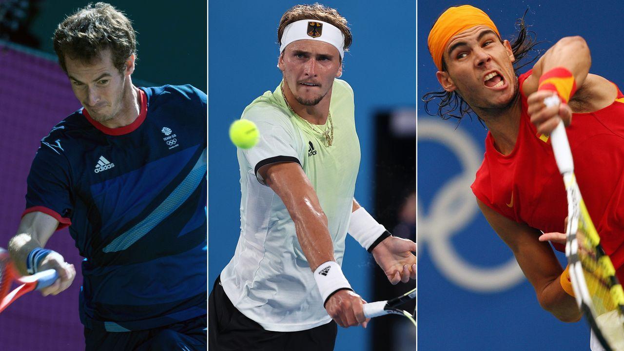 Die Tennis-Olympiasieger im Einzel seit 1988 - Bildquelle: Getty Images/Imago