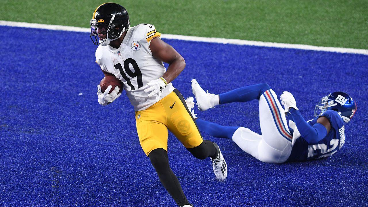 Gute Leistungen: JuJu Smith-Schuster (Pittsburgh Steelers) - Bildquelle: 2020 Getty Images