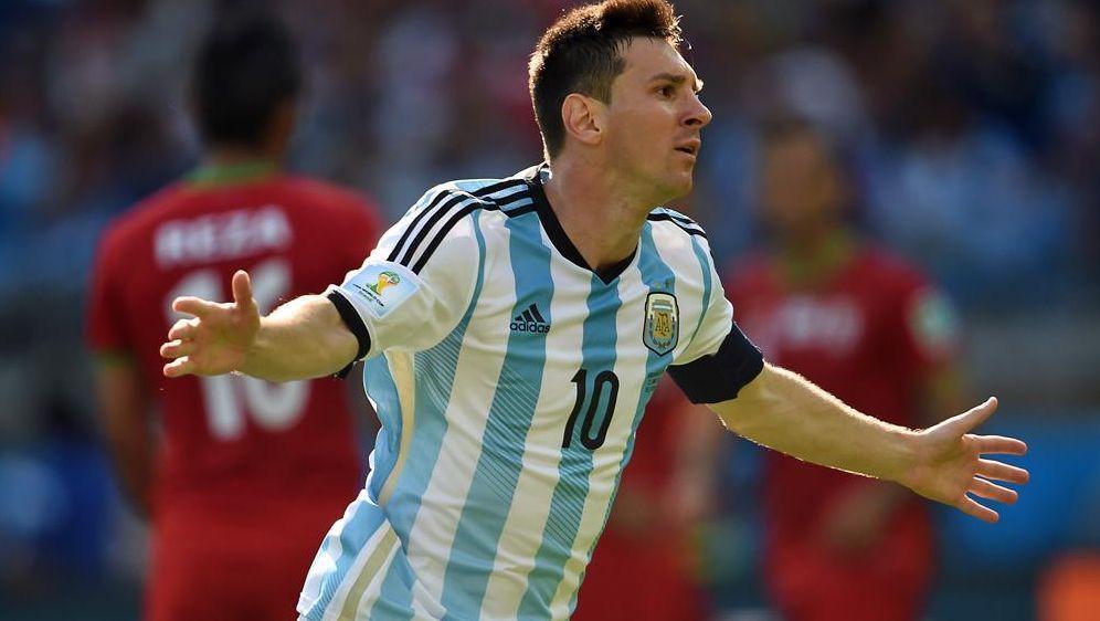 Messi rettet den schwachen argentinischen Auftritt - Bildquelle: SID-SID-AFP