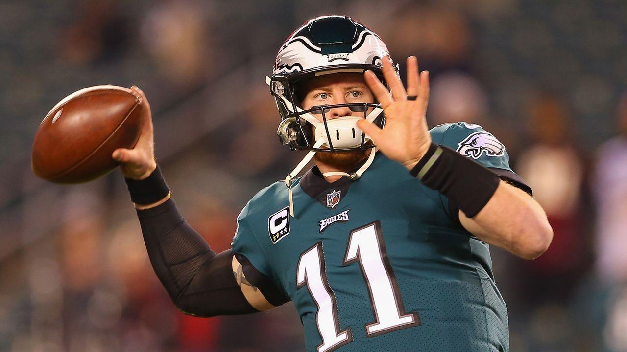 Philadelphia Eagles: Carson Wentz - Bildquelle: 2018 Getty Images