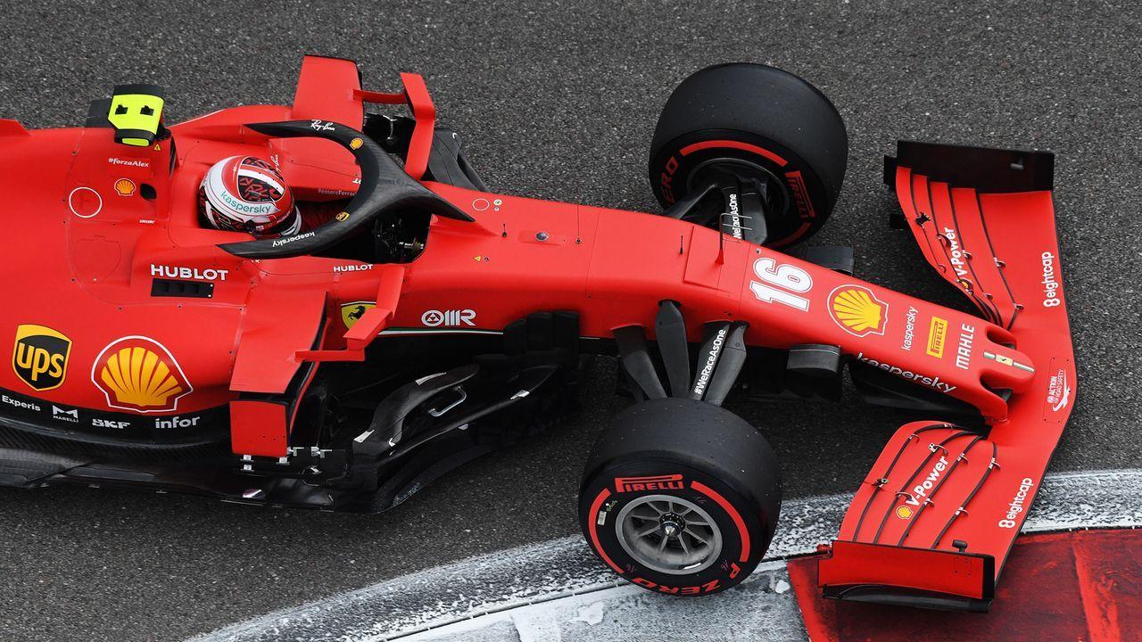 Charles Leclerc (Ferrari) - Bildquelle: 2020 Getty Images