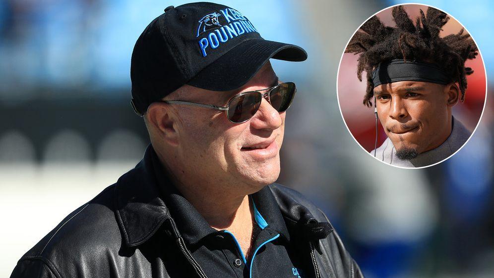 Hat sich zur Zukunft von Quarterback Cam Newton bei den Carolina Panthers ge... - Bildquelle: 2019 Getty Images