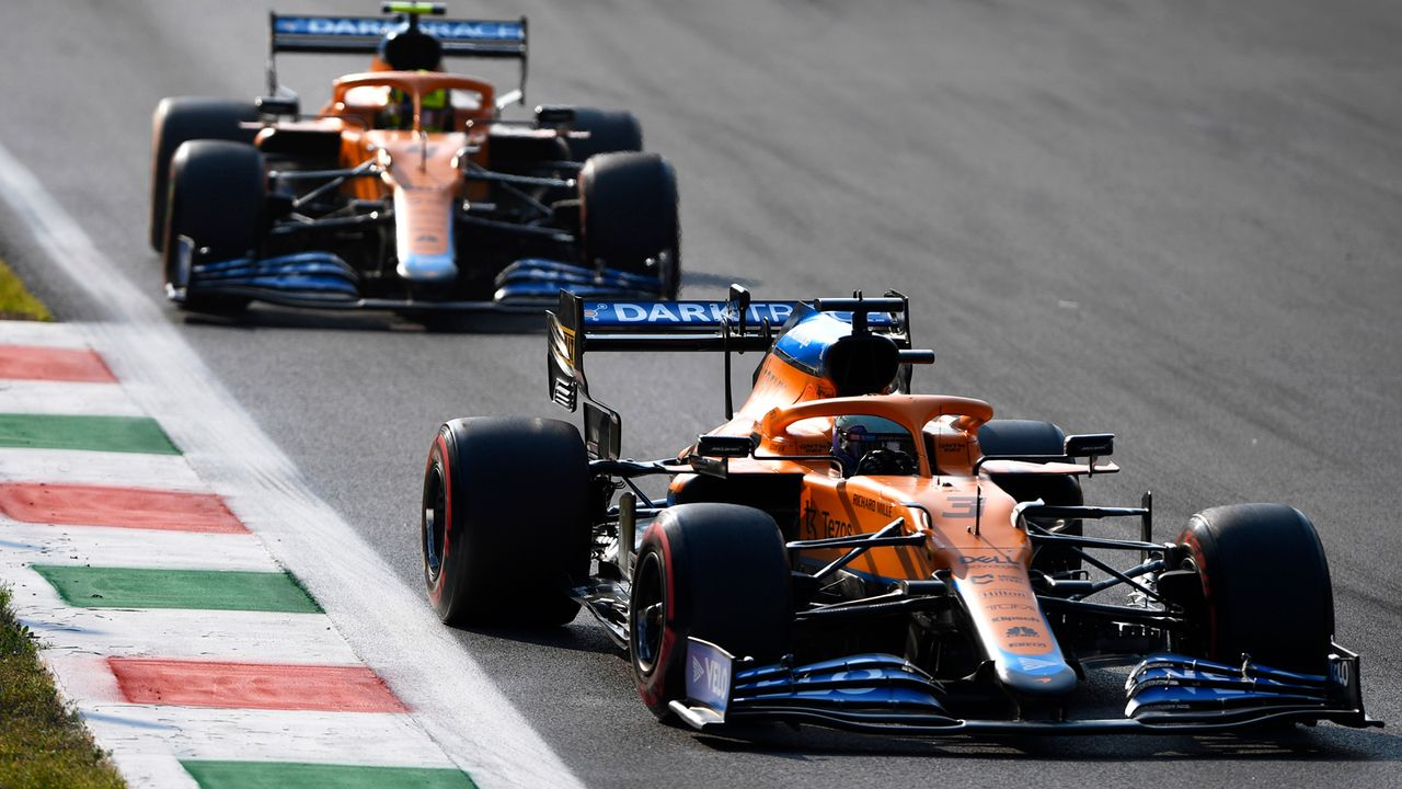 Gewinner: McLaren - Bildquelle: 2021 Getty Images