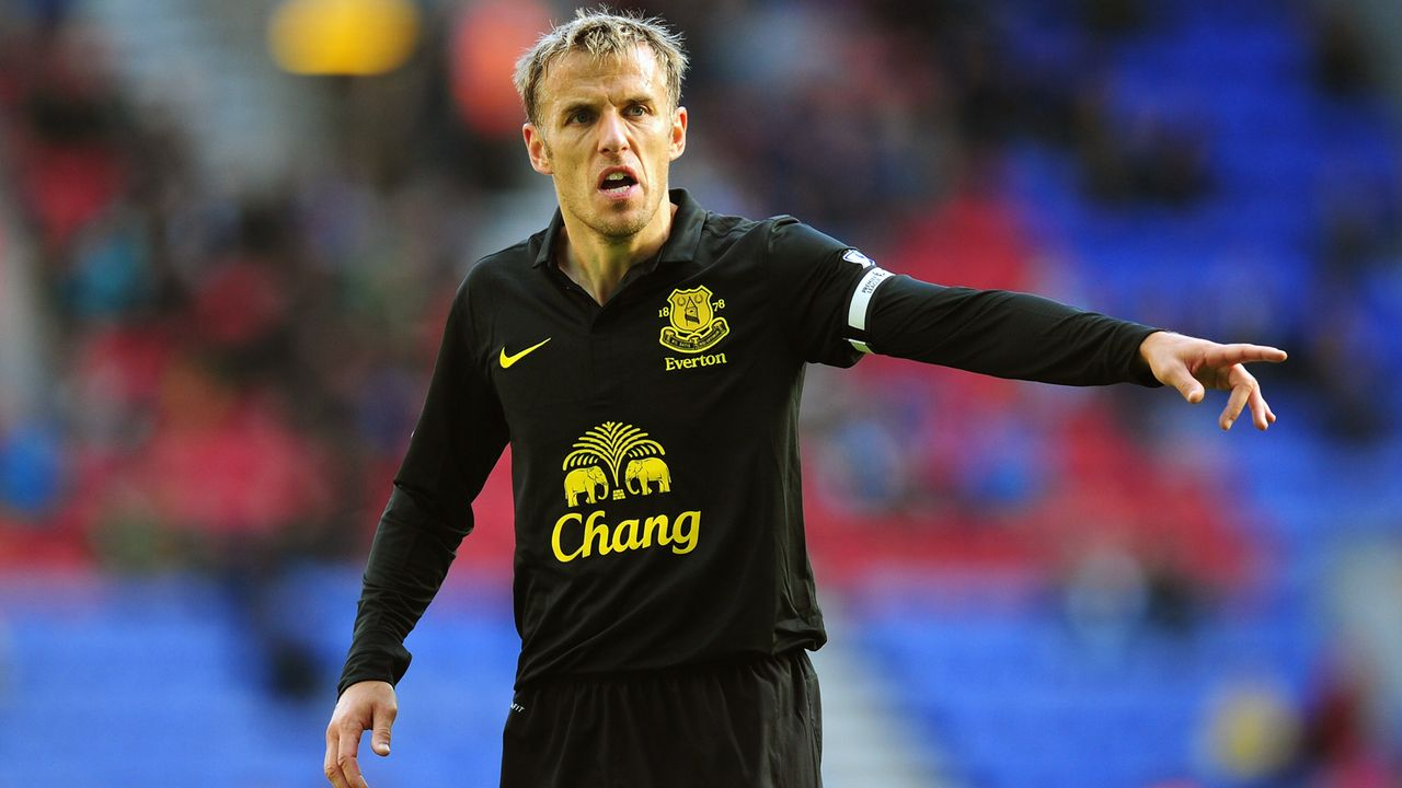 Platz 9 - Phil Neville - Bildquelle: 2012 Getty Images