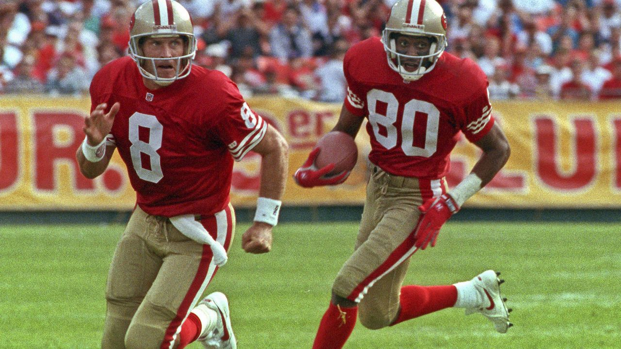 Steve Young und Jerry Rice - 92 Touchdowns
