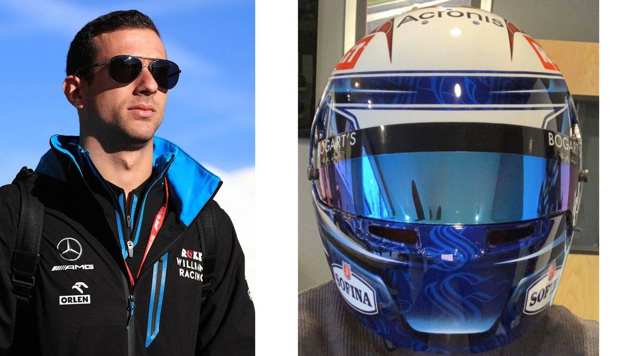 Nicholas Latifi (ROKiT Williams Racing) - Bildquelle: Twitter: WilliamsRacing