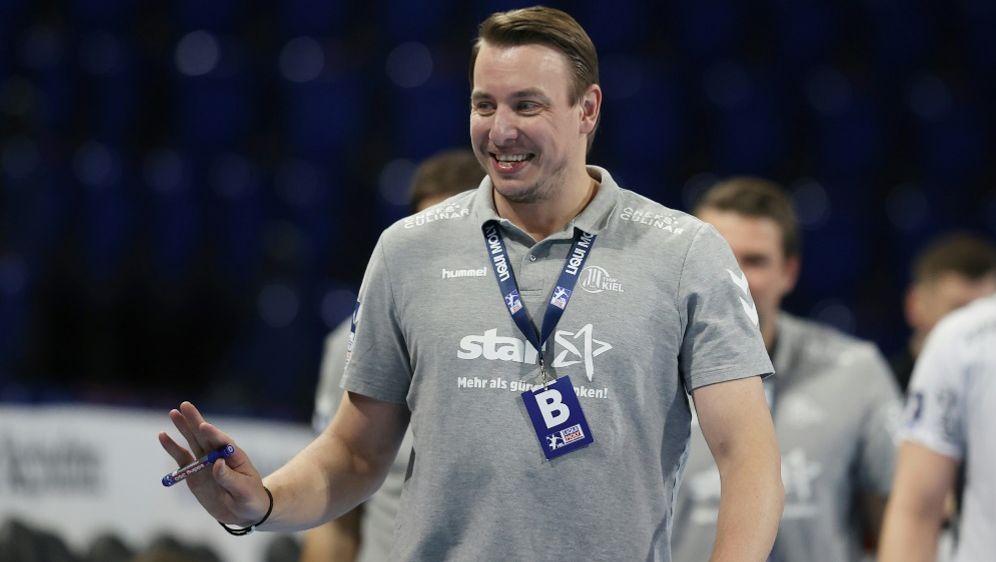 Trainer Filip Jicha gewinnt mit Kiel gegen Zagreb - Bildquelle: FIROFIROSID