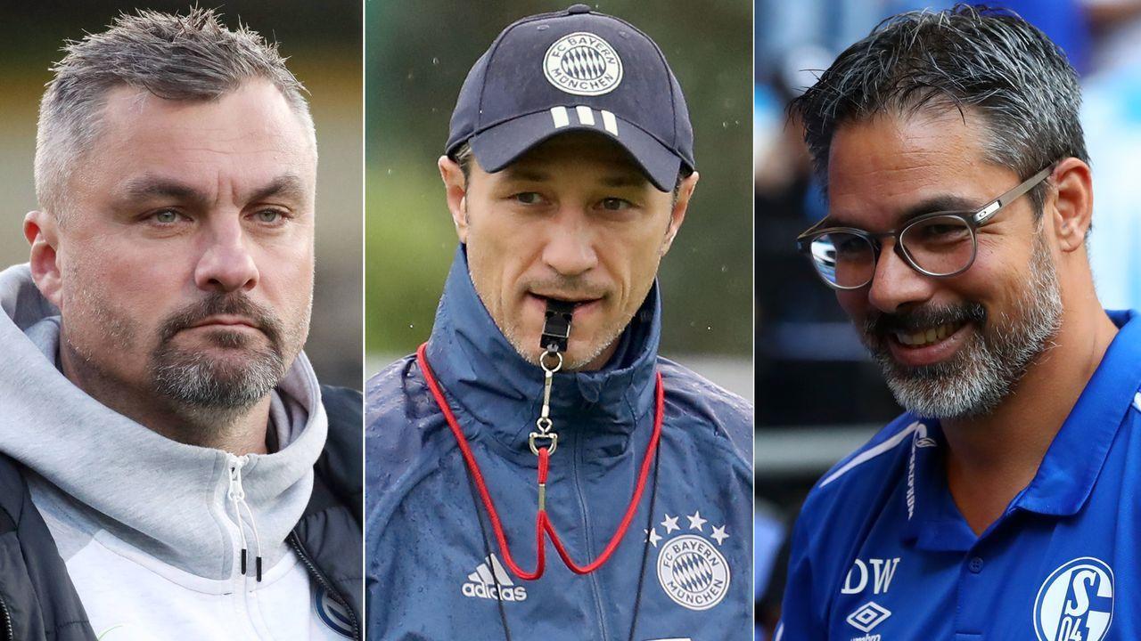 Diese Trainer im deutschen Profifußball kickten auch für ihre jetzigen Klubs - Bildquelle: Getty Images/Imago