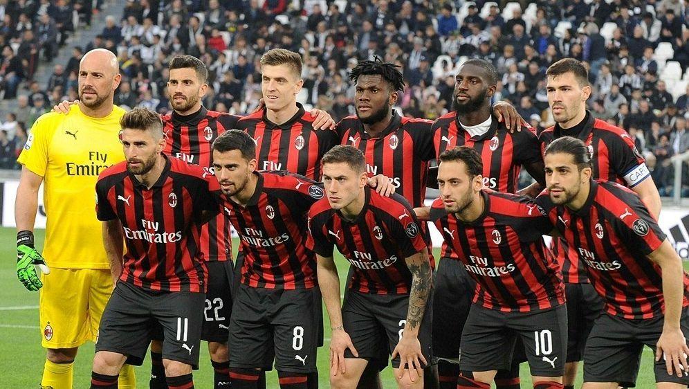 AC Mailand droht Ausschluss aus dem Europacup - Bildquelle: PIXATHLONPIXATHLONSID