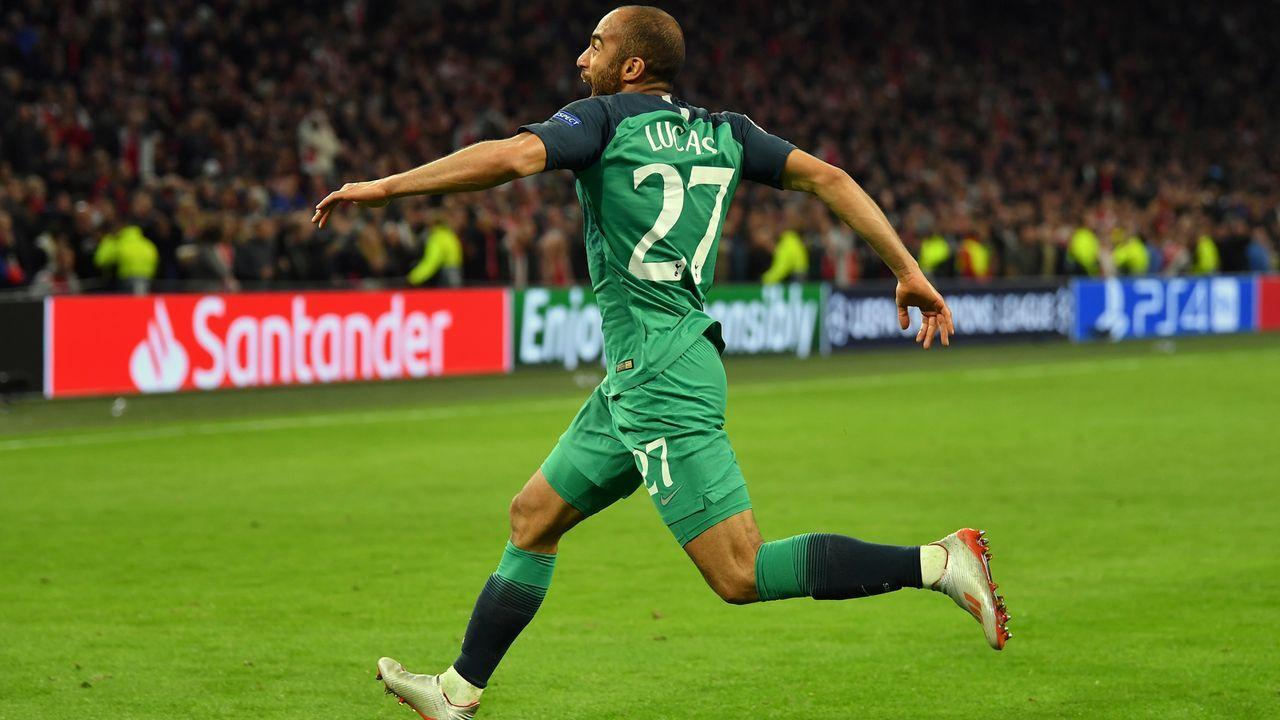 Mittelfeld - Lucas Moura (Tottenham Hotspur) - Bildquelle: 2019 Getty Images