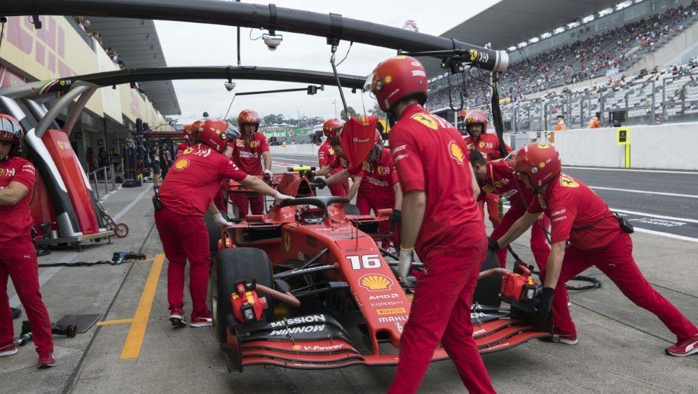 Motorwechsel bei Ferrari-Pilot Charles Leclerc - Bildquelle: AFPSIDBehrouz MEHRI