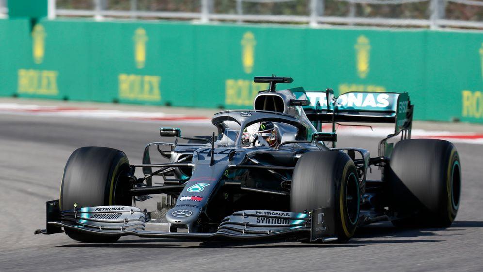 Hamilton gewinnt den GP von Russland. - Bildquelle: imago
