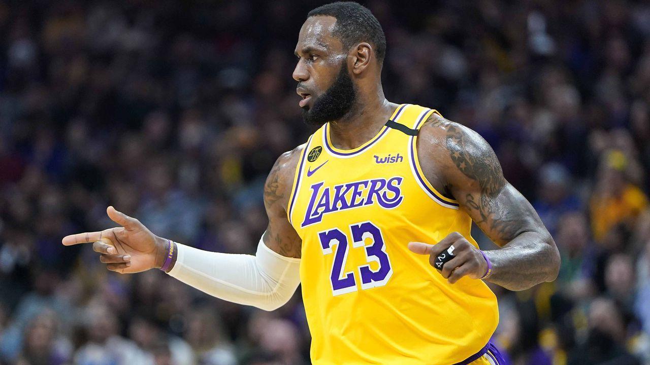 Team LeBron: LeBron James (Team Captain, Starter) - Bildquelle: 2020 Getty Images