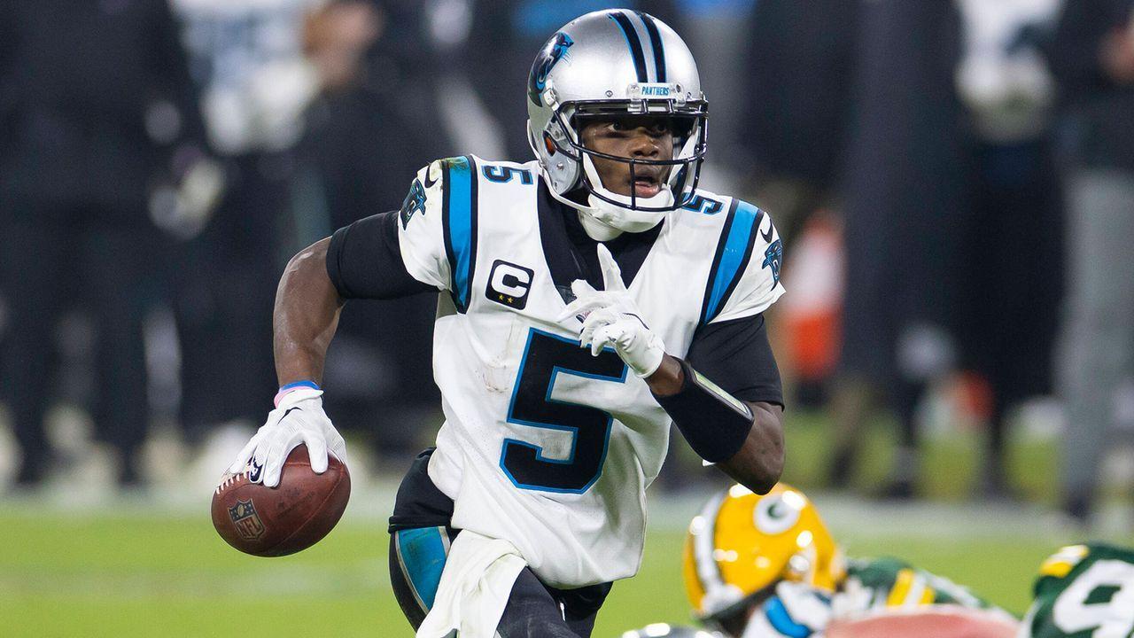 Platz 12: Teddy Bridgewater (Carolina Panthers) - Bildquelle: Imago Images