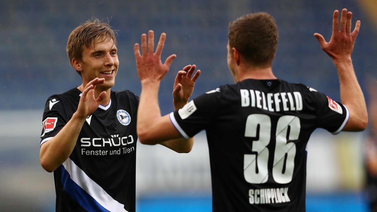 Platz 12: Arminia Bielefeld - Durchschnittlicher Tabellenplatz der Gegner: 10,8  - Bildquelle: getty