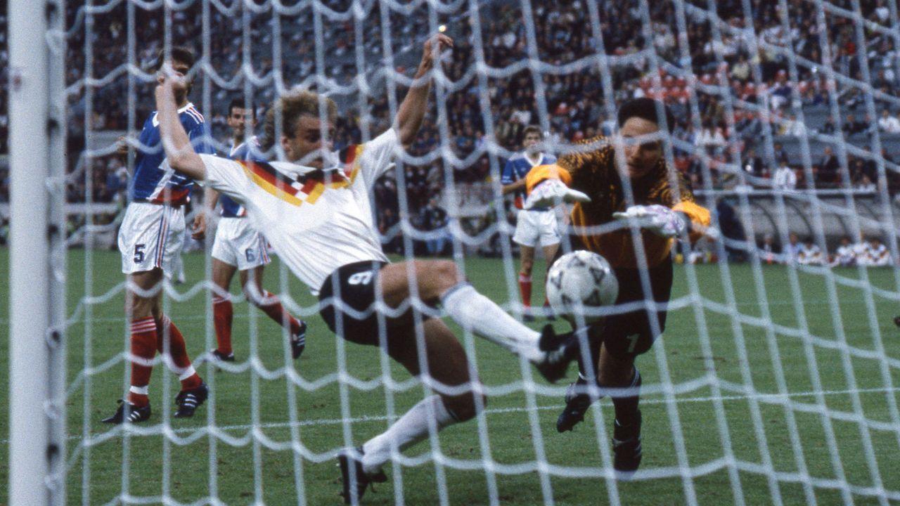 WM 1990: Deutschland - Jugoslawien - Bildquelle: imago images/Sven Simon